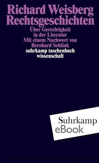 Rechtsgeschichten - Blick ins Buch