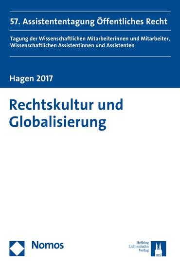 Rechtskultur und Globalisierung - Blick ins Buch