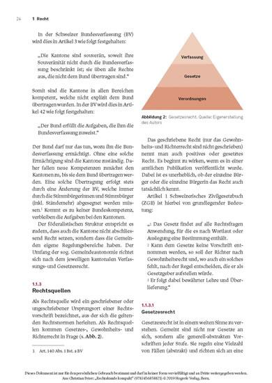 Rechtskunde kompakt - Blick ins Buch