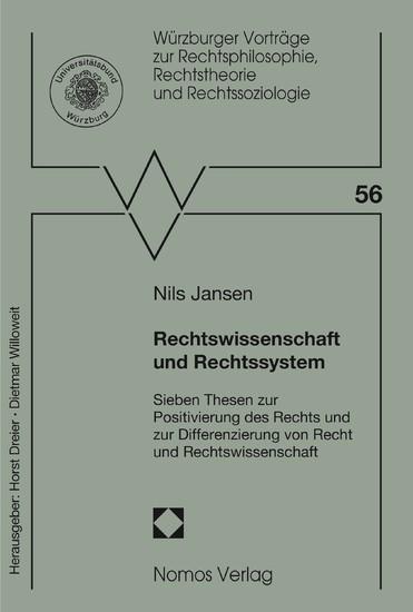 Rechtswissenschaft und Rechtssystem - Blick ins Buch