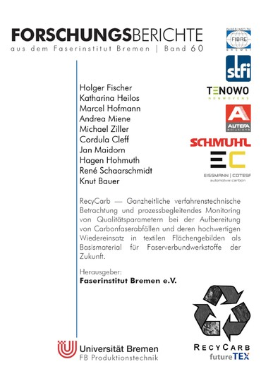 RecyCarb - Blick ins Buch