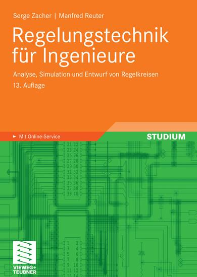 Regelungstechnik für Ingenieure - Blick ins Buch