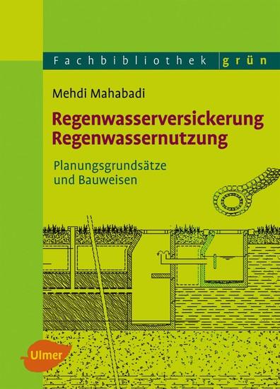 Regenwasserversickerung, Regenwassernutzung - Blick ins Buch
