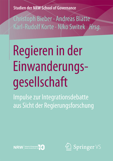 Regieren in der Einwanderungsgesellschaft - Blick ins Buch