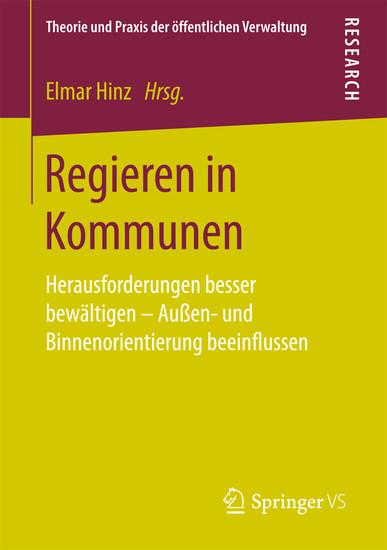 Regieren in Kommunen - Blick ins Buch