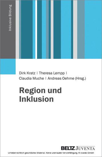 Region und Inklusion - Blick ins Buch