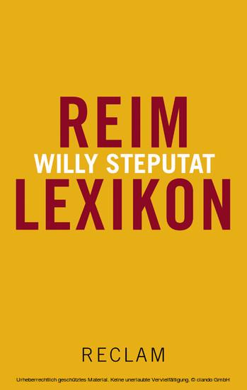 Reimlexikon - Blick ins Buch