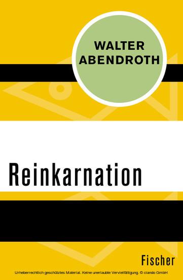Reinkarnation - Blick ins Buch