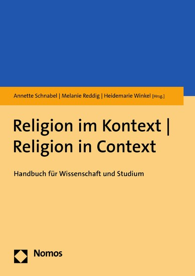 Religion im Kontext | Religion in Context - Blick ins Buch