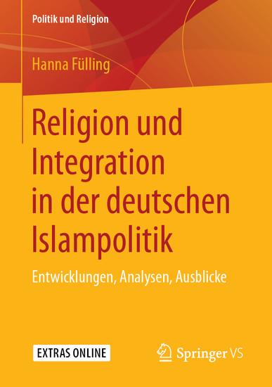 Religion und Integration in der deutschen Islampolitik - Blick ins Buch