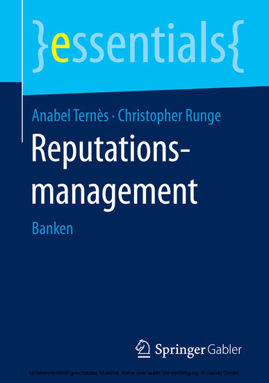 Reputationsmanagement - Blick ins Buch