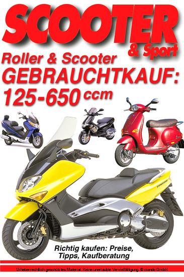 Roller & Scooter: Gebrauchtkauf 125-650 ccm - Blick ins Buch