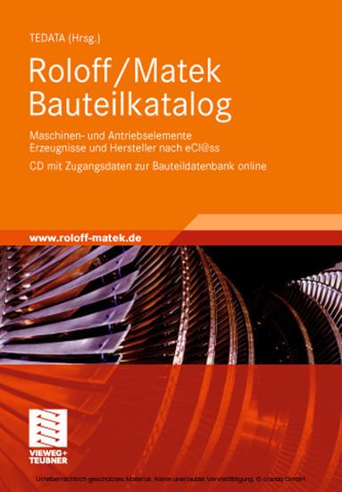 Roloff/Matek Bauteilkatalog - Blick ins Buch