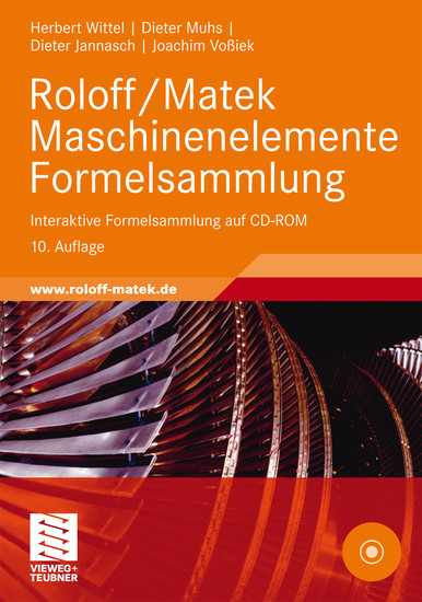 Roloff/Matek Maschinenelemente Formelsammlung - Blick ins Buch