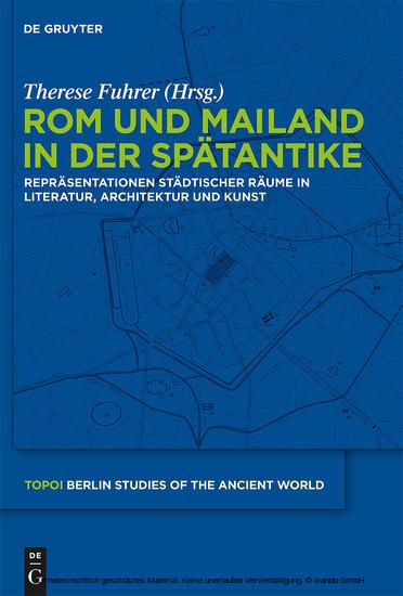 Rom und Mailand in der Spätantike - Blick ins Buch