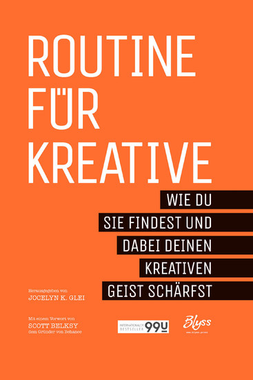 Routine für Kreative - Blick ins Buch
