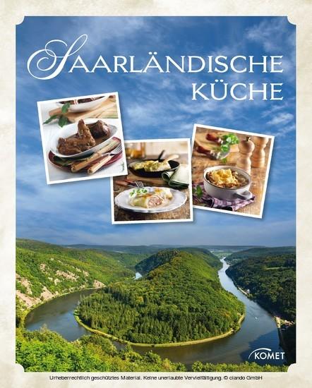 Saarländische Küche - Blick ins Buch