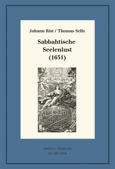 Sabbahtische Seelenlust (1651) - Blick ins Buch