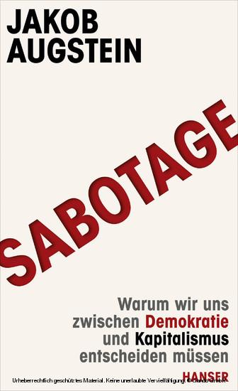 SABOTAGE - Blick ins Buch