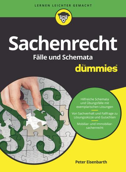 Sachenrecht Fälle und Schemata für Dummies - Blick ins Buch