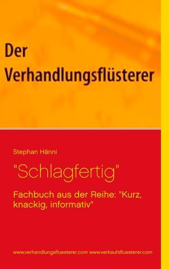 """""""Schlagfertig"""" - Blick ins Buch"""