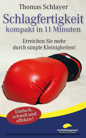 Schlagfertigkeit - kompakt in 11 Minuten - Blick ins Buch