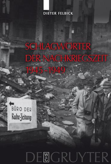 Schlagwörter der Nachkriegszeit 1945-1949 - Blick ins Buch