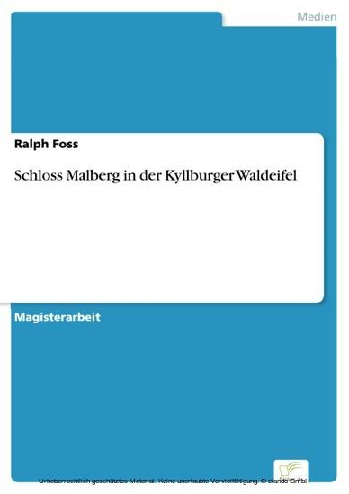 Schloss Malberg in der Kyllburger Waldeifel - Blick ins Buch