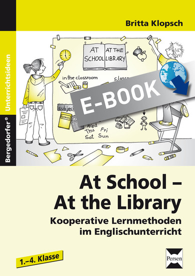 At School - At the Library - Blick ins Buch