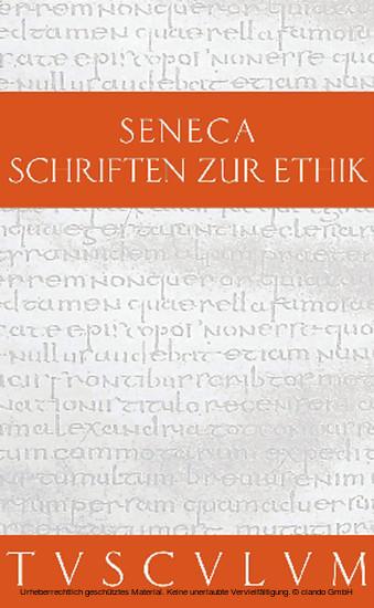 Schriften zur Ethik - Blick ins Buch
