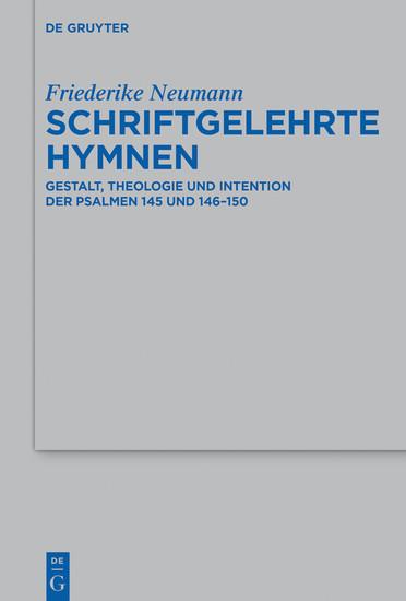 Schriftgelehrte Hymnen - Blick ins Buch