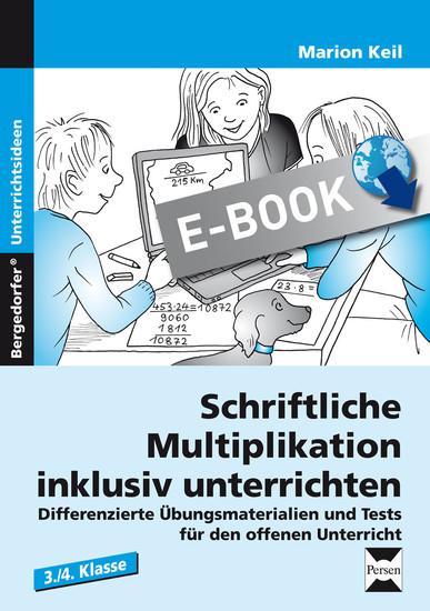 Schriftliche Multiplikation inklusiv unterrichten - Blick ins Buch