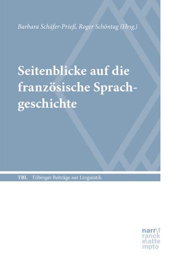 Seitenblicke auf die französische Sprachgeschichte - Blick ins Buch