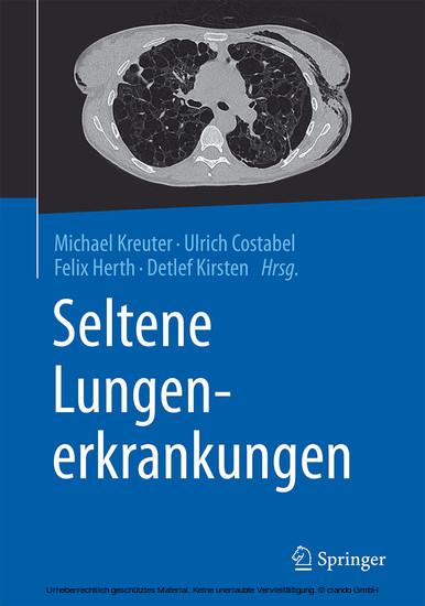 Seltene Lungenerkrankungen - Blick ins Buch