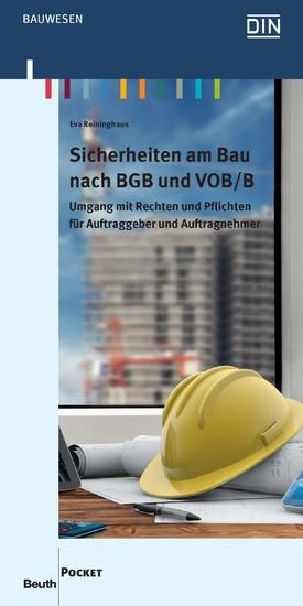 Sicherheiten am Bau nach BGB und VOB/B - Blick ins Buch