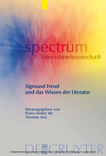 Sigmund Freud und das Wissen der Literatur - Blick ins Buch