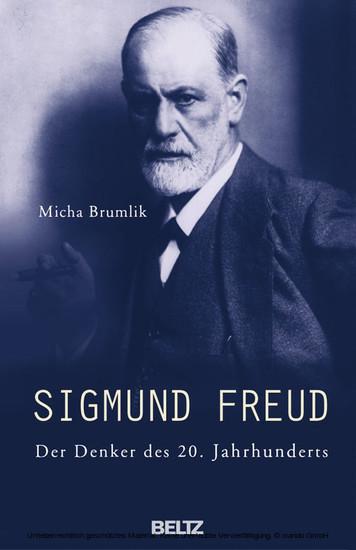 Sigmund Freud - Blick ins Buch