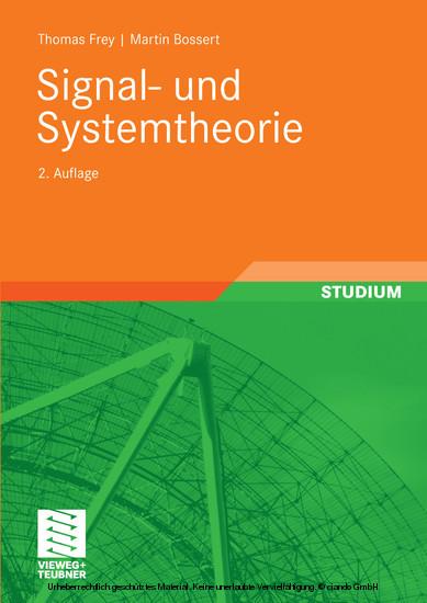 Signal- und Systemtheorie - Blick ins Buch