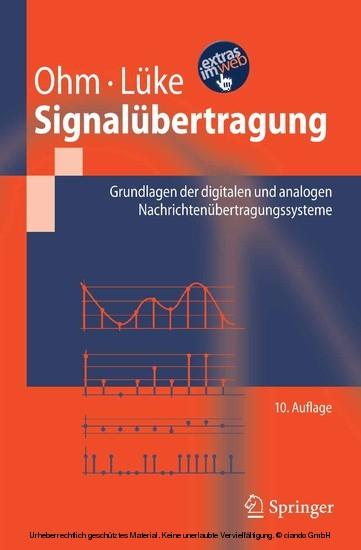 Signalübertragung - Blick ins Buch