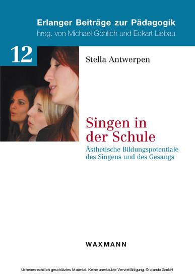 Singen in der Schule - Blick ins Buch