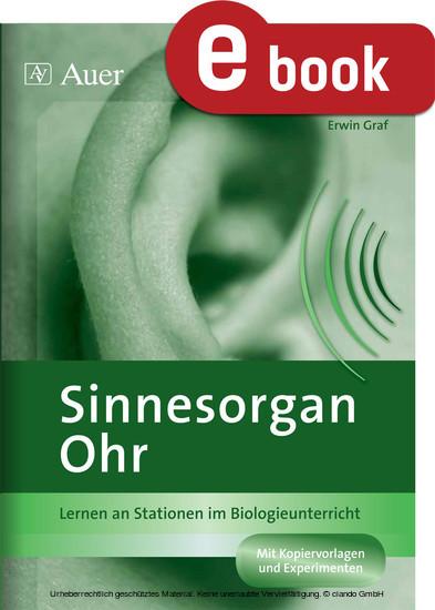 Sinnesorgan Ohr - Blick ins Buch