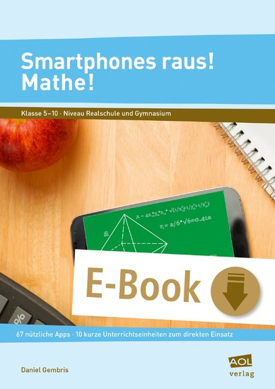 Smartphones raus! Mathe! - Blick ins Buch