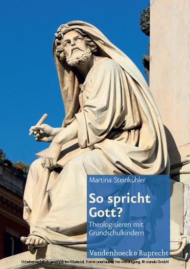 So spricht Gott? - Blick ins Buch
