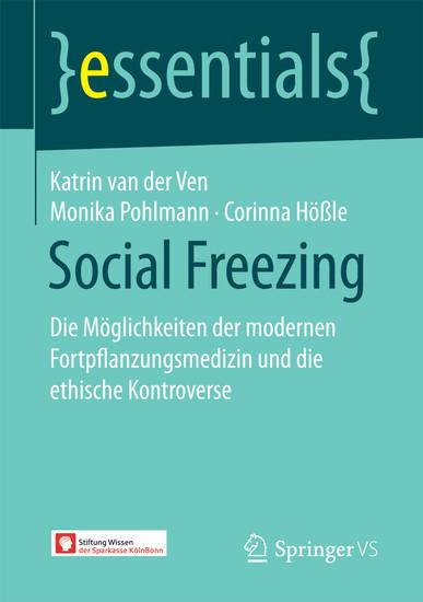 Social Freezing - Blick ins Buch