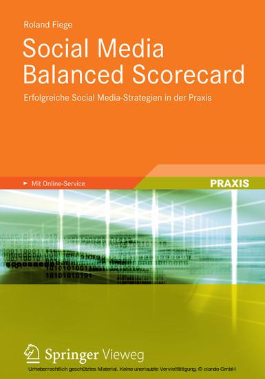 Social Media Balanced Scorecard - Blick ins Buch