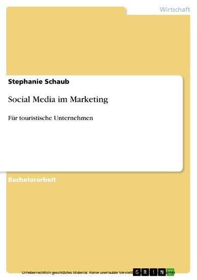 Social Media im Marketing - Blick ins Buch