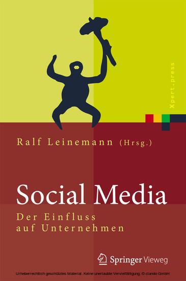 Social Media - Blick ins Buch