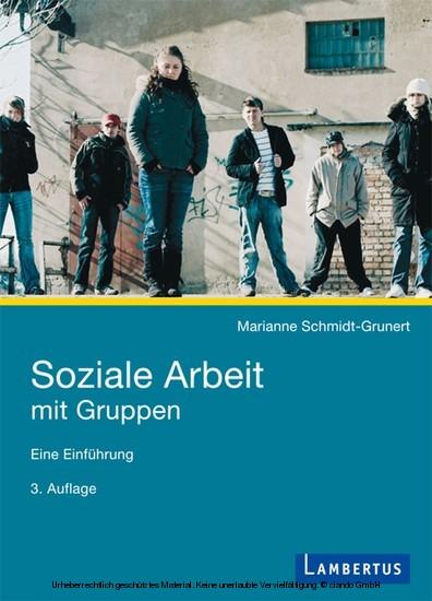 Soziale Arbeit mit Gruppen - Blick ins Buch