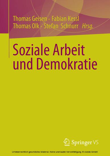 Soziale Arbeit und Demokratie - Blick ins Buch