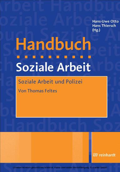 Soziale Arbeit und Polizei - Blick ins Buch